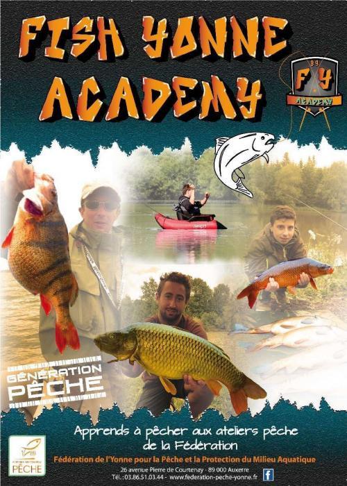 """Apprendre à pêcher au sein de la """"Fish Yonne Academy"""""""