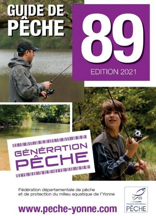 Guide 2021 de la pêche dans l'Yonne