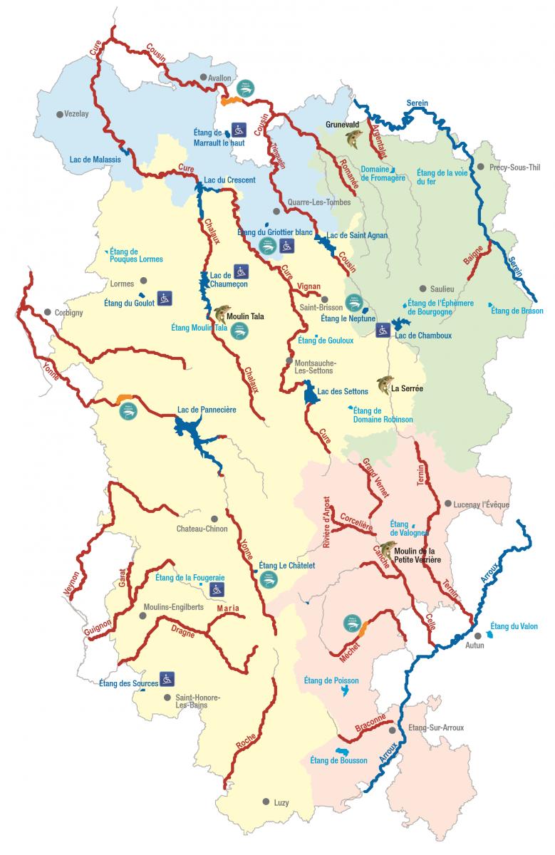 A C Heval Sur Les Quatre Dpartements Bourguignons Le Parc Naturel Rgional Du Morvan PNRM Propose Un Vaste