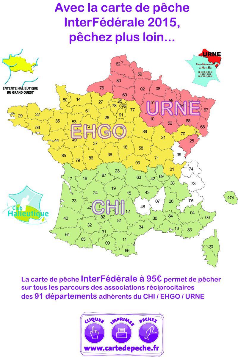 Carte Halieutique Alsace.Annuelles Federation Departementale De La Peche De L Yonne